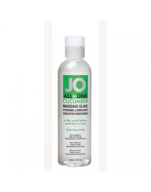 Масажно олио с краставица 120мл JO SENSUAL MASSAGE CUCUMBER