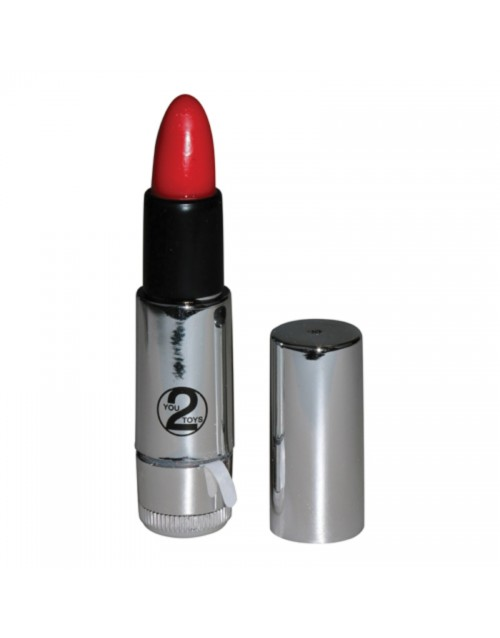 Мини вибростимулатор Kiss Me Lipstick