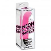 Масажьор Neon Jr. G-Spot Softees Розов