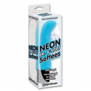 Масажор Neon Luv Touch Jr. G-Spot Softees Blue