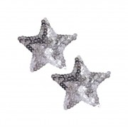 Апликатори за зърна Bad Kitty Pasties Silver Star