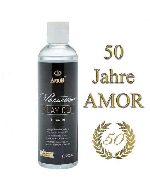 лубрикант Vibratissimo Play Gel Silicone, 250 ml