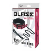 BLAZE COLLAR & LEASH PINK