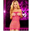 Рокля Hustler Pink Fencenet Micro Mini Dress