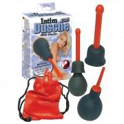 Балон за промивки с 2 приставки Mini Intim Dusche
