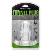 Double Tunnel Plug Medium - Clear