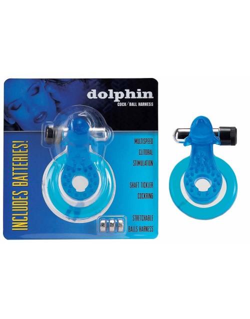 Пенис ринг Cock & Ball Harness Dolphin blue