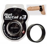 Метален ринг Hot Metal Ring black