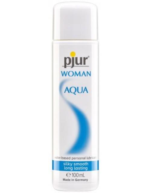 Водоразтворим лубрикант pjur woman Aqua 100ml