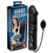 Black Giant Latex Balloon