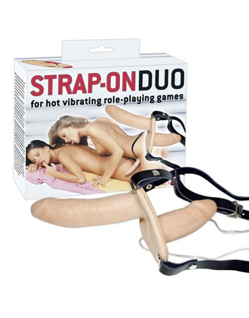 Двоен колан Strap-on Duo