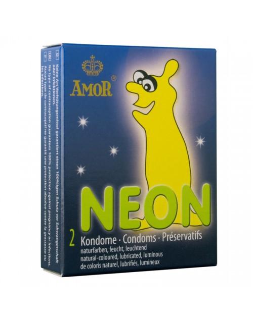 Презервативи AMOR Неон 1бр.