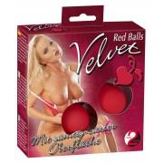 Червени любовни топки